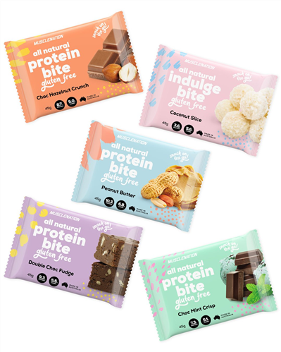MUSCLE NATION ALL NATURAL PROTEIN BITES