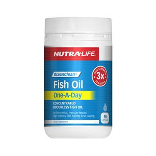 Nutralife fish oil one a day sprint fit nz for How much fish oil per day bodybuilding