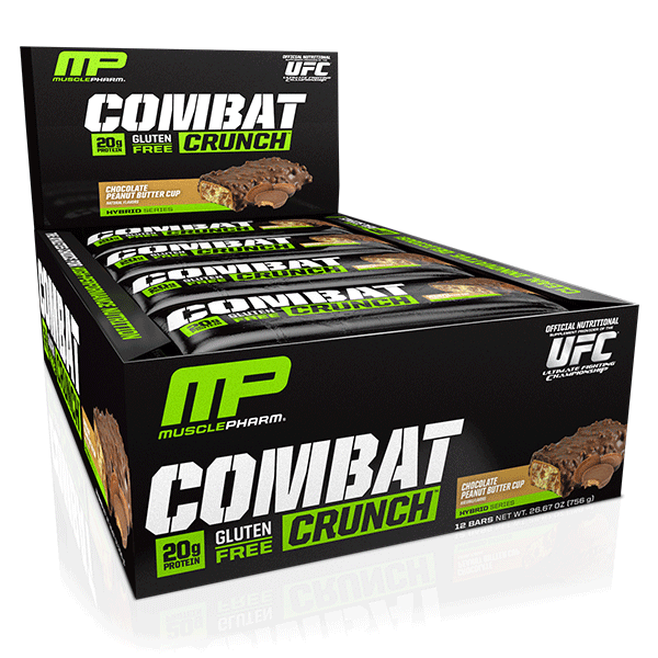 MusclePharm Combat Crunch Protein Bars