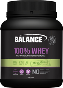 BALANCE 100% WHEY OLD PACKAGING