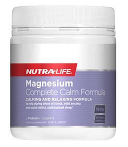 NUTRA-LIFE MAGNESIUM COMPLETE CALM POWDER