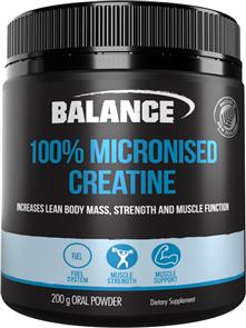 BALANCE 100% PURE MICRONISED CREATINE