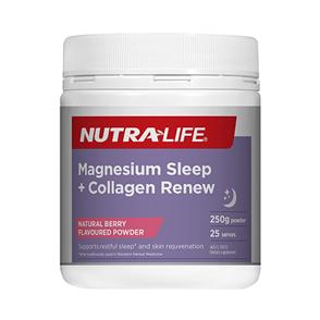 NUTRA-LIFE MAGNESIUM SLEEP + COLLAGEN RENEW