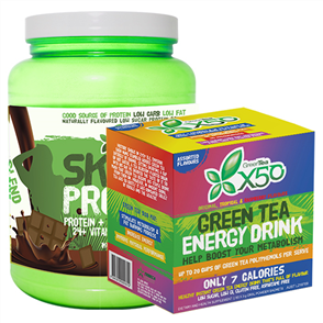 X50 SKINNY UPSIZE & X50 GREEN TEA ASSORTED COMBO