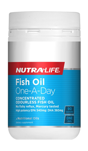NUTRA-LIFE FISH OIL ONE A DAY CONCENTRATED