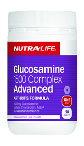 NUTRA-LIFE GLUCOSAMINE 1500 COMPLEX ADVANCED
