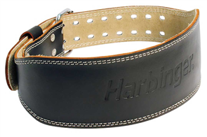 HARBINGER 4INCH PADDED LEATHER BELT