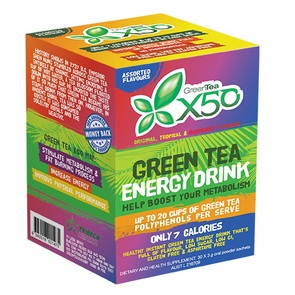 X50 GREEN TEA ASSORTED NEW FORMULA