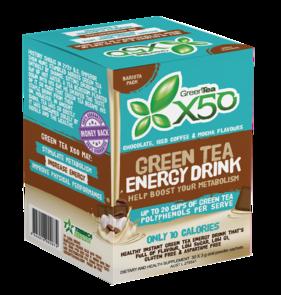X50 GREEN TEA BARISTA BOX NEW FORMULA