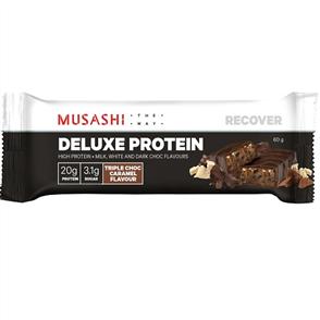 MUSASHI DELUXE PROTEIN SINGLE BARS