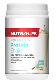 NUTRA-LIFE NATURAL DAILY PROTEIN SHAKE