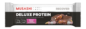 MUSASHI DELUXE PROTEIN SINGLE BARS