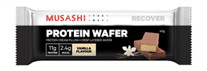 MUSASHI PROTEIN WAFER SINGLE BAR