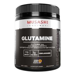 MUSASHI 100% GLUTAMINE