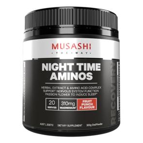 MUSASHI NIGHT TIME AMINOS