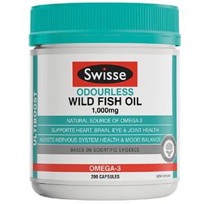 SWISSE ODOURLESS WILD FISH OIL
