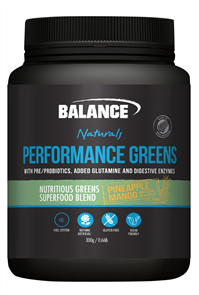 BALANCE NATURALS PERFORMANCE GREENS