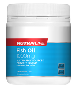 NUTRA-LIFE OMEGA 3 FISH OIL 1000MG