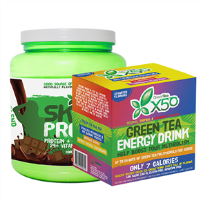 X50 SKINNY PROTEIN & X50 GREEN TEA ASSORTED COMBO