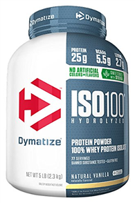 DYMATIZE ISO 100 NATURAL