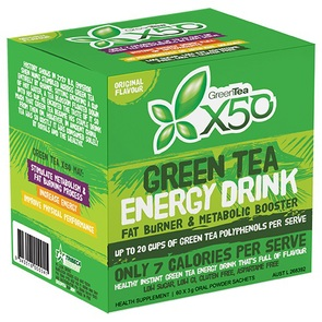 X50 GREEN TEA ORIGINAL NEW FORMULA
