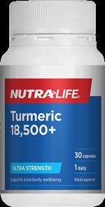 NUTRA-LIFE TURMERIC 18,500+