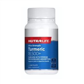 NUTRA-LIFE TURMERIC 18500+ ULTRA STRENGTH