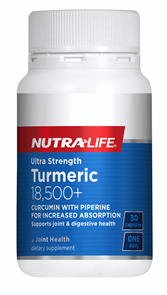 NUTRA-LIFE ULTRA STRENGTH TURMERIC 18,500+