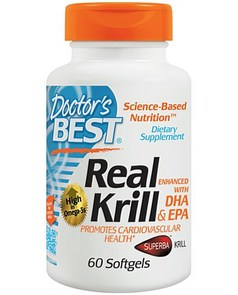 DOCTORS BEST REAL KRILL ENHANCED DHA EPA