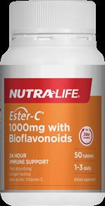 NUTRA-LIFE ESTER C 1000MG PLUS BIOFLAVANOIDS