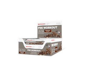 MUSASHI PRE WORKOUT BAR