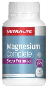 NUTRA-LIFE MAGNESIUM COMPLETE SLEEP FORMULA