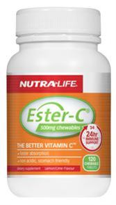 NUTRA-LIFE ESTER C 500MG CHEWABLE