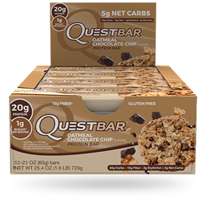 QUEST NUTRITION QUEST BARS (BOX 12'S 60G)