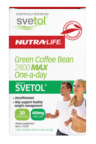 NUTRA-LIFE GREEN COFFEE BEAN 2800 MAX