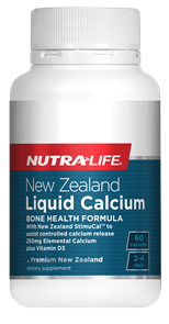 NUTRA-LIFE LIQUID CALCIUM PLUS VITAMIN D3
