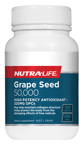 NUTRA-LIFE GRAPE SEED 50,000