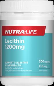 NUTRA-LIFE LECITHIN 1200MG
