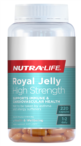 NUTRA-LIFE ROYAL JELLY HIGH STRENGTH