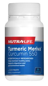 NUTRA-LIFE TURMERIC MERIVA CURCUMIN 550
