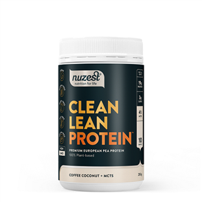 NUZEST CLEAN LEAN PROTEIN FUNCTIONAL COFFEE COCONUT +MCTS