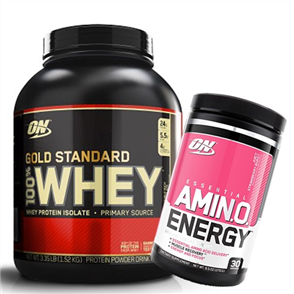 3f58f276d ... Optimum Nutrition Gold Standard Whey 5Lb Amino Energy Combo  129.99 ...