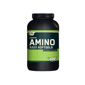 OPTIMUM NUTRITION SUPERIOR AMINO 2222 SOFT GELS