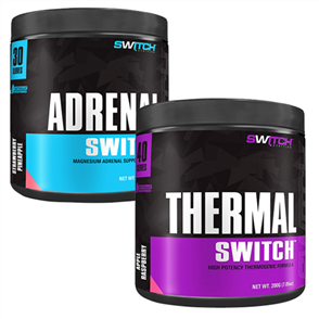 SWITCH NUTRITION SHRED BURN & RECOVER COMBO