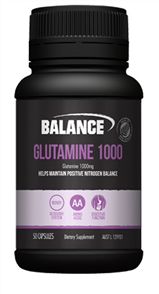 BALANCE GLUTAMINE 1000MG