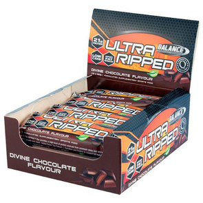 BALANCE ULTRA RIPPED PROTEIN BAR BOX