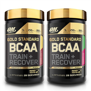 OPTIMUM NUTRITION BCAA TRAIN & RECOVER DOUBLE COMBO