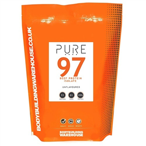 BODYBUILDING WAREHOUSE PURE BEEF PROTEIN ISOLATE 97