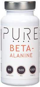 BODYBUILDING WAREHOUSE PURE BETA ALANINE CAPS