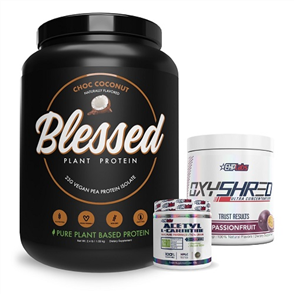 EHP LABS BLESSED SHRED UPSIZE COMBO